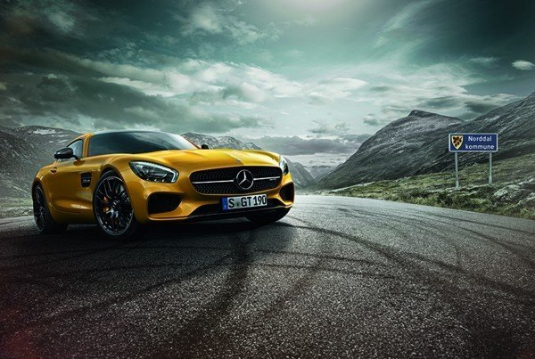 AMG photo for motion graphics video by Buzzworks