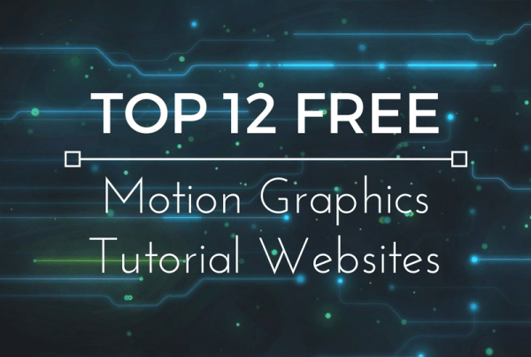 Top 12 Free Motion Graphics Tutorial Websites TOP 12 FREE