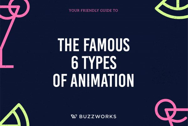 The Famous 6 Types of Animation 6 types of animation