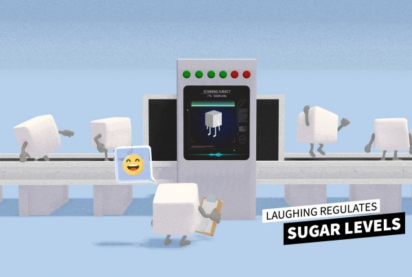 3D Animation Studio axa laugh for health