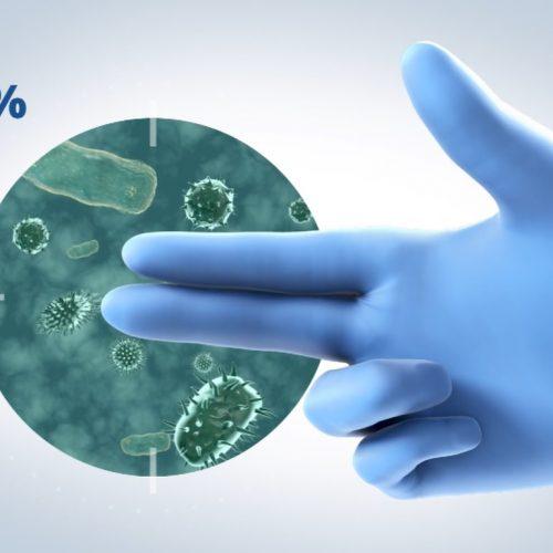 Portfolio Antimicrobial Gloves Video