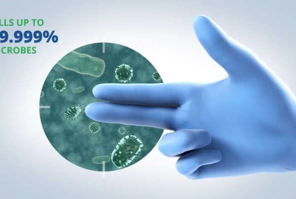 3D Animation Studio Antimicrobial Gloves Video