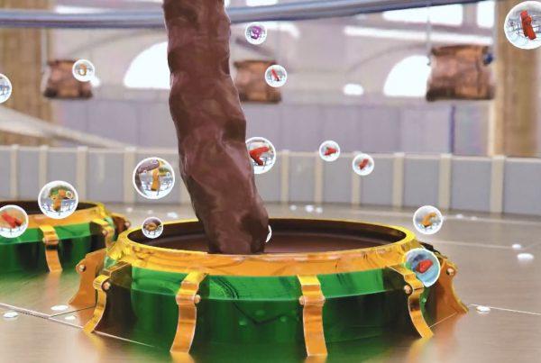 3D Animation Studio Crispy Chocolate TVC 2