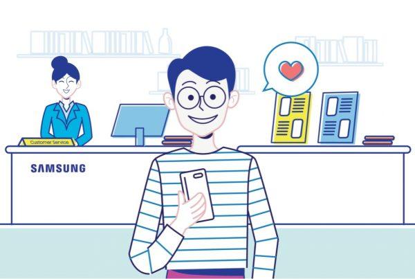 2D Animation Studio Samsung Smart Service Video
