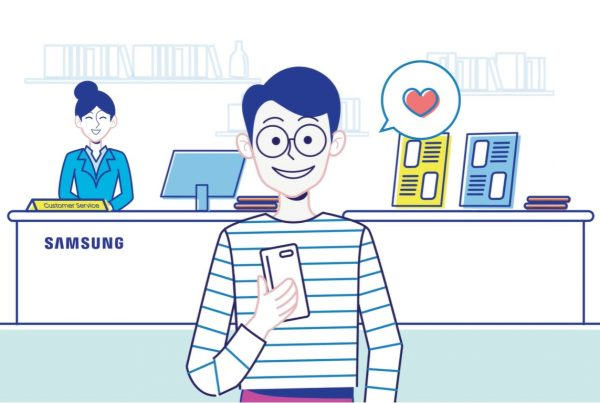 2D Animation Studio Samsung Smart Service Video